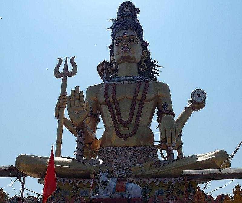 Шива в Омкарешваре