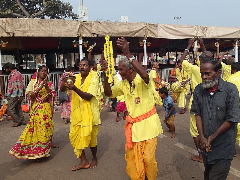Паломники Пури Индия