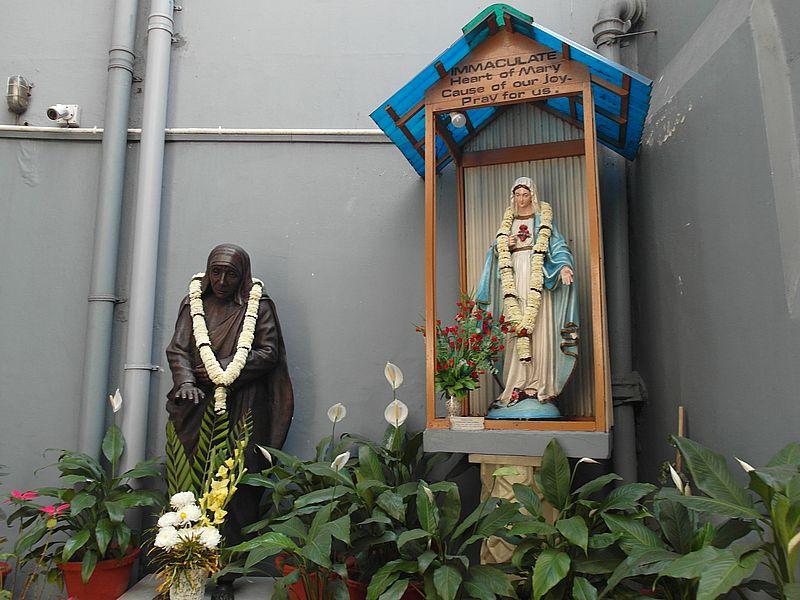 Мать Тереза в Колькате