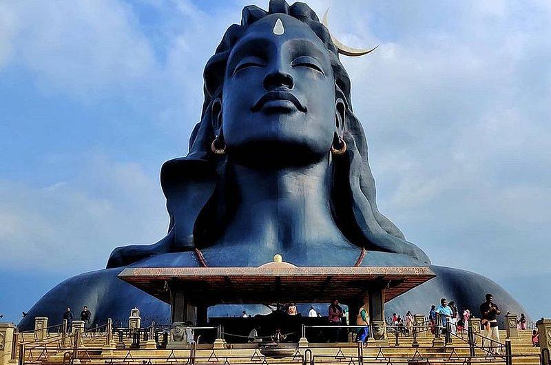 Главная статуя Шивы Адийоги в Индии