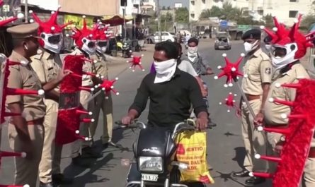 Корона-копы в Индии