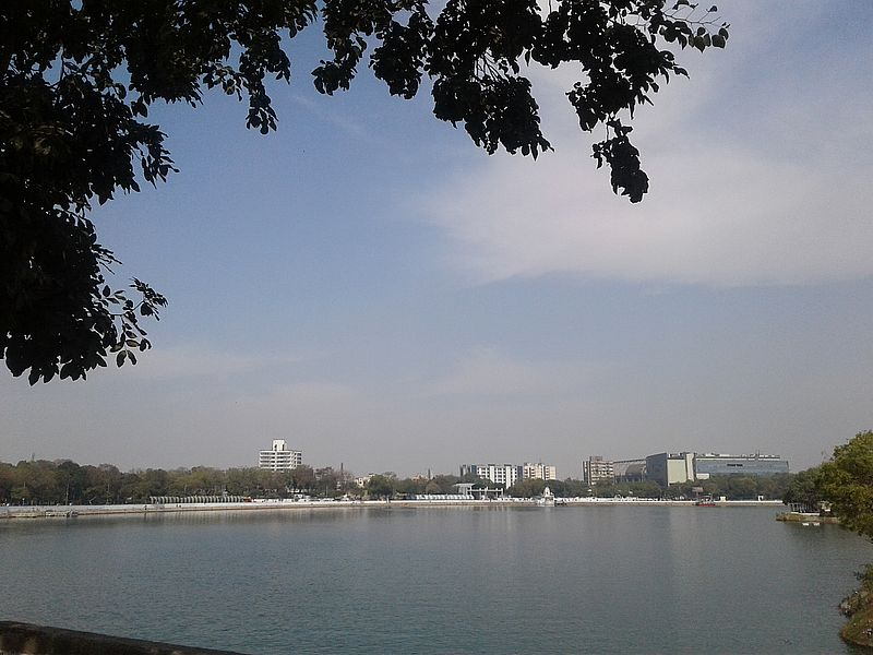 Озеро Канкария в Ахмедабаде