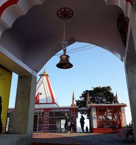 Вход в храм Кунджапури