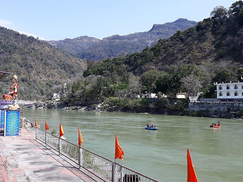 Рафтинг на реке Ганга