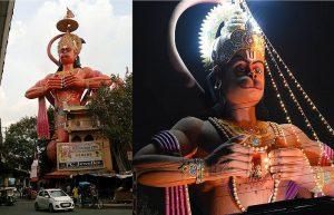Хануман в Дели