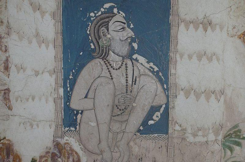 Махамандир в Джодхпуре: удивительная роспись стен и потолка