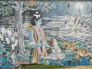 Рама молится Шиве