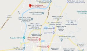 Карта Кал Бхайрав Уджайн