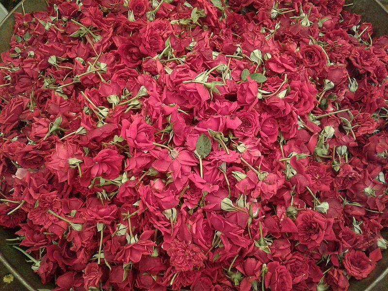 Цветочный рынок Калькутта