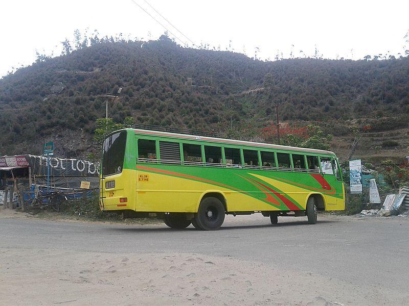 Автобус в Индии