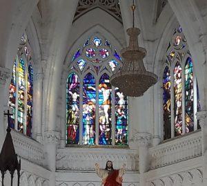Витражи собора
