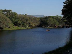 Озеро в парке Боривали
