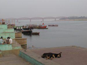 На берегу Ганги в Варанаси