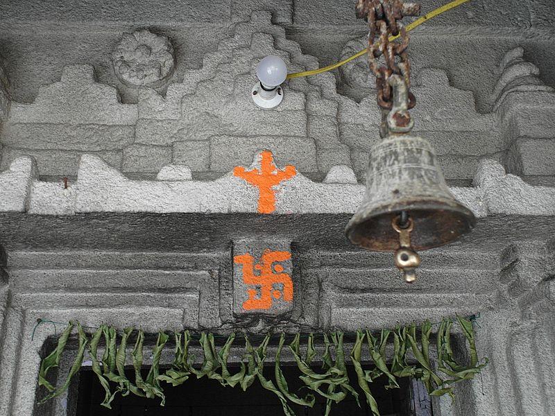 Колокольчик в храме