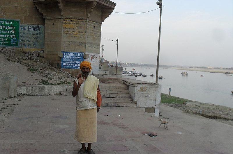 Как здороваются в Индии
