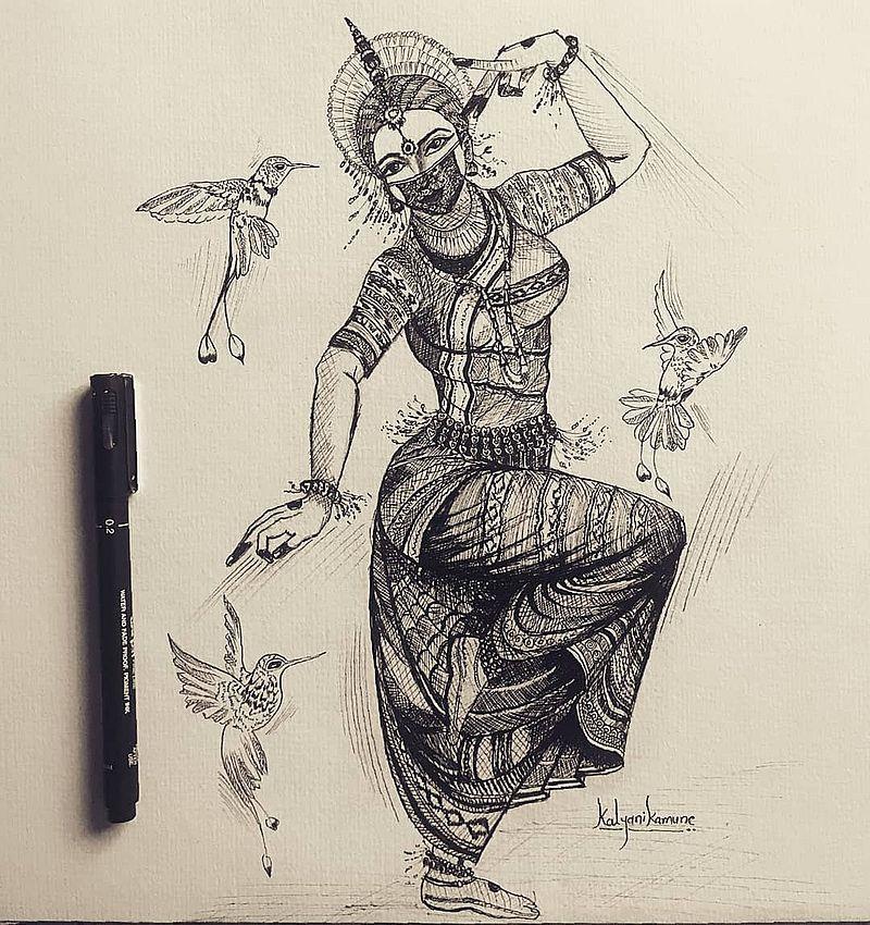танцовщица из Одиши