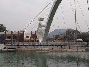 Мост в виде знака Ом