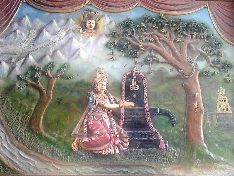 Камакши и Шива