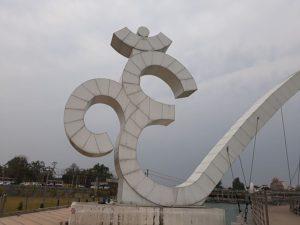 Священный знак ом в архитектуре