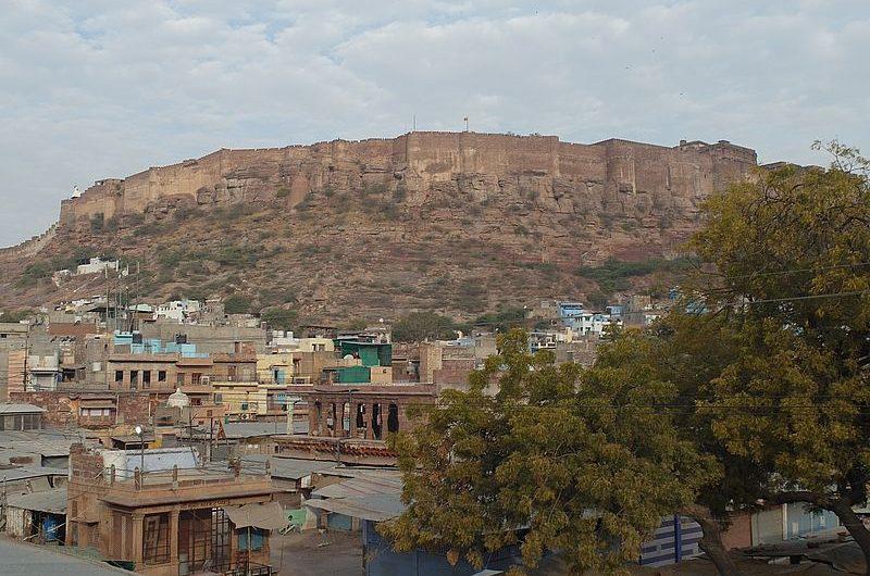 Форт Мехрангарх – главная достопримечательность Джодхпура