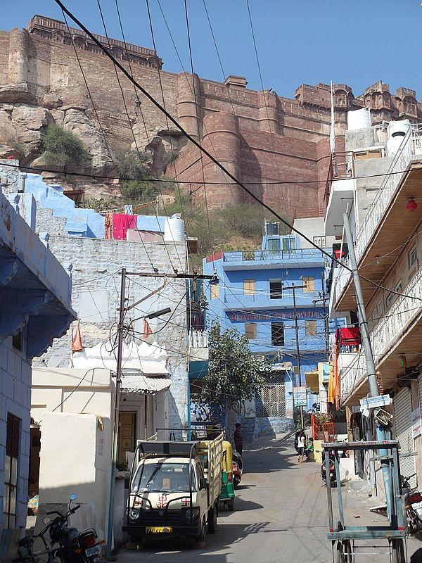 Мехрангарх крепость