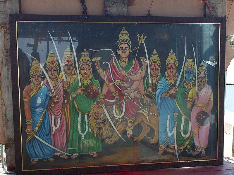 Богиня Дурга