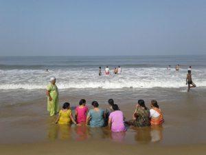 Главный пляж Гокарны