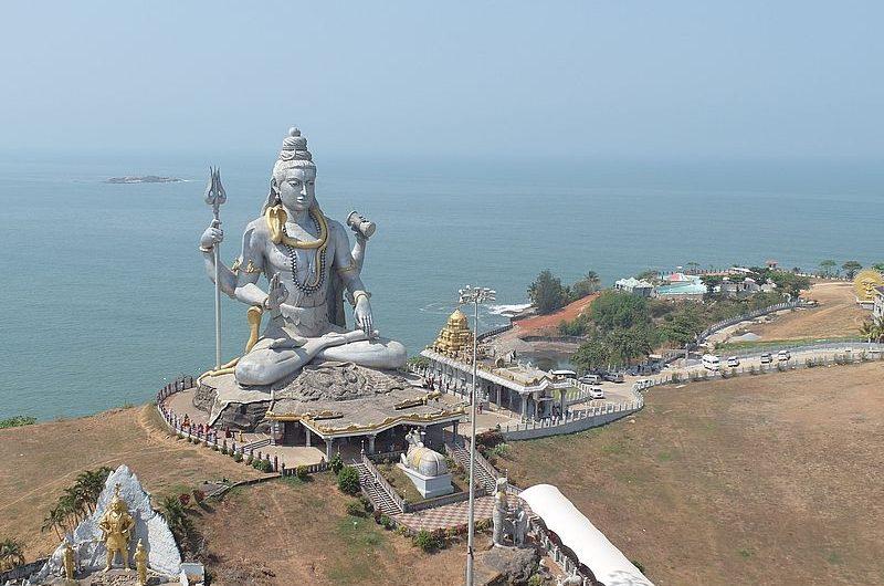 Где находится самая высокая статуя Шивы в Индии?