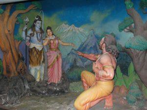 Скульптуры в музее Мурудешвар