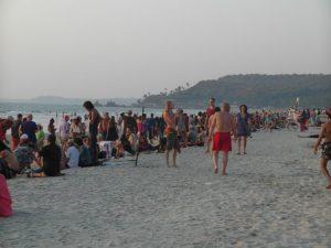 Арамболь пляж рынок
