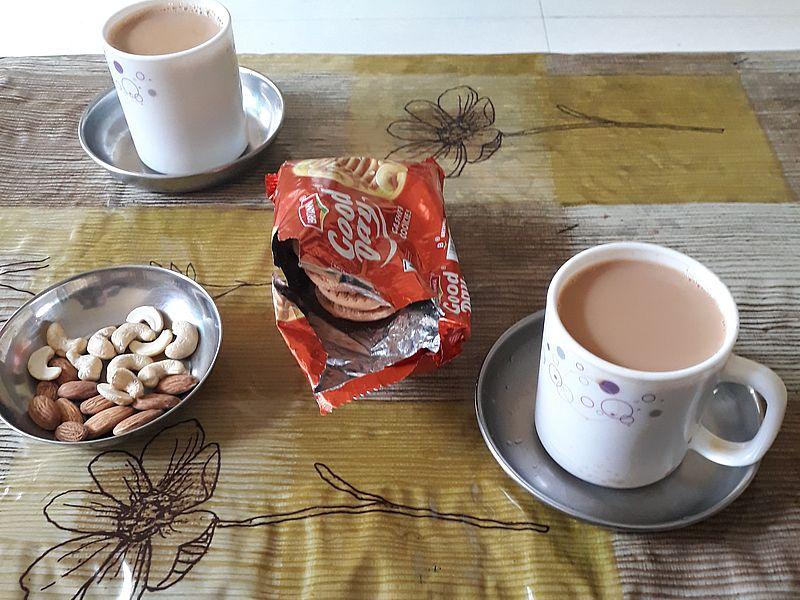 Масала-чай дома