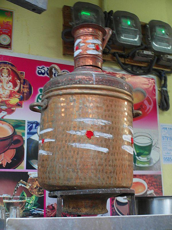 Самовар в Индии