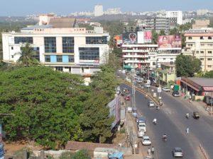 Город Удупи в Индии