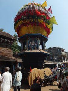 Колесница Махашиваратри