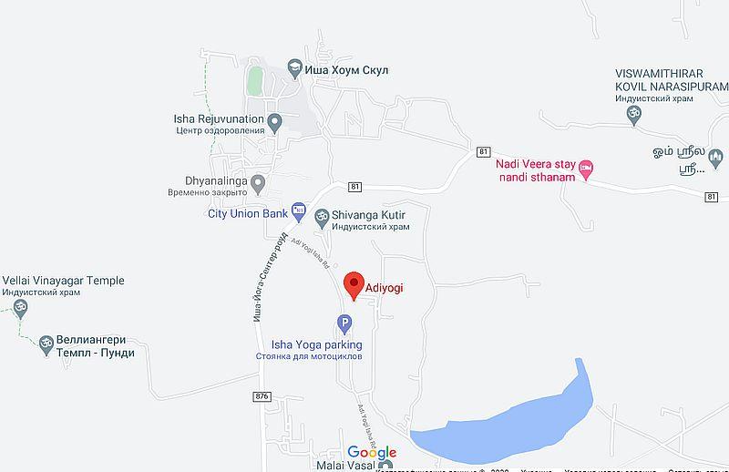 Карта Адийоги