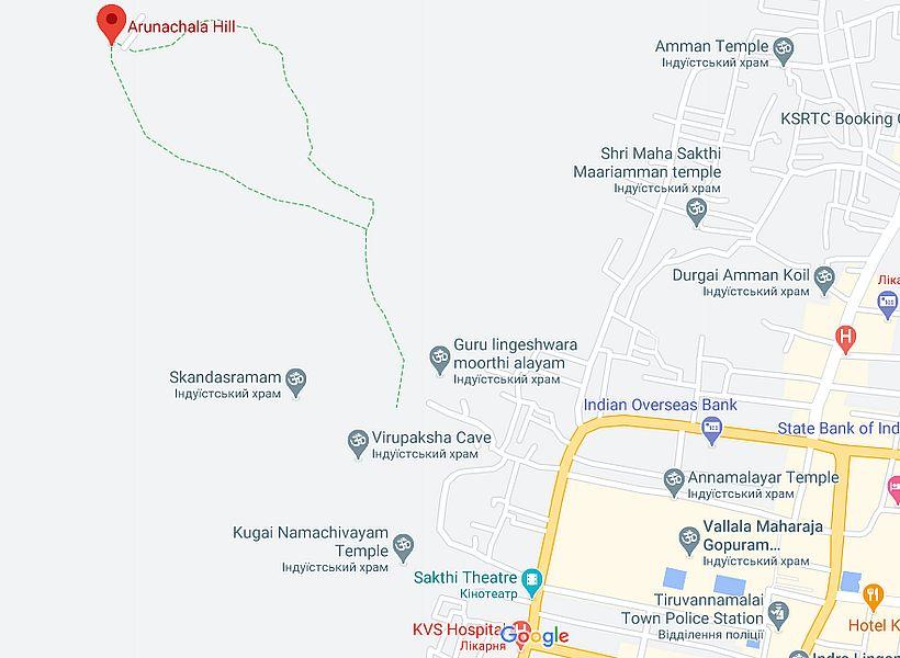 Карта Аруначалы