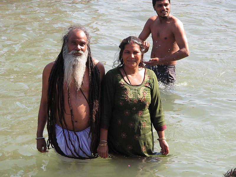Купание в Ганге