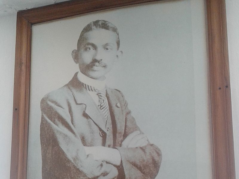 Ганди молодой
