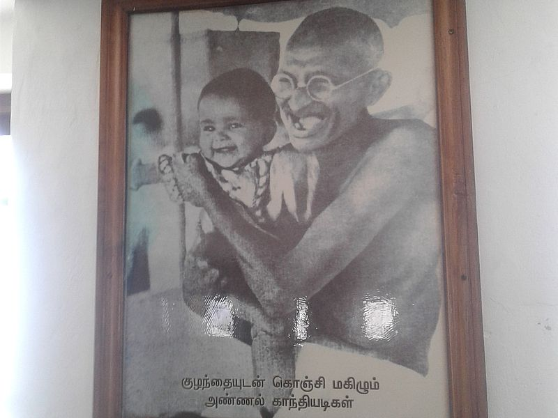 Ганди и мальчик