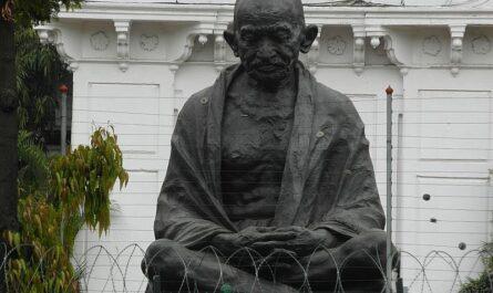 Ганди статуя