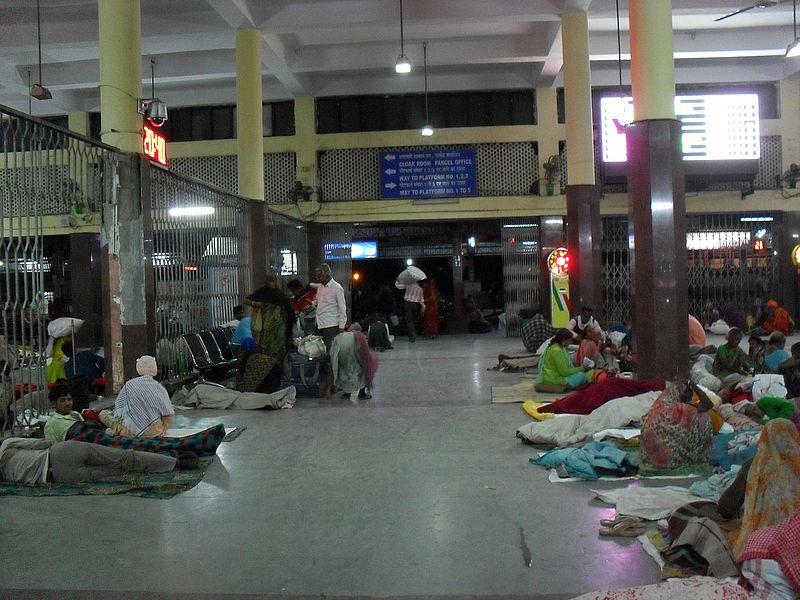 Вокзал в Индии
