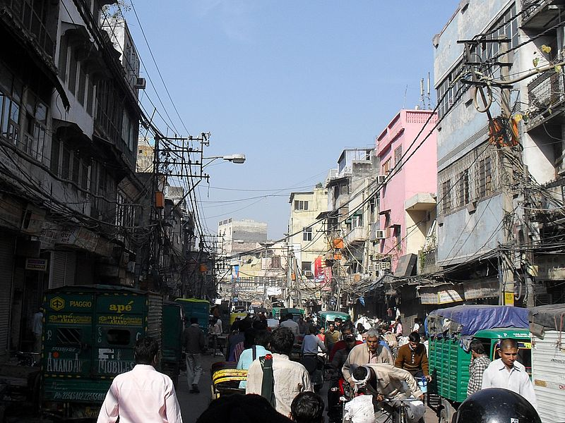 Люди в Дели
