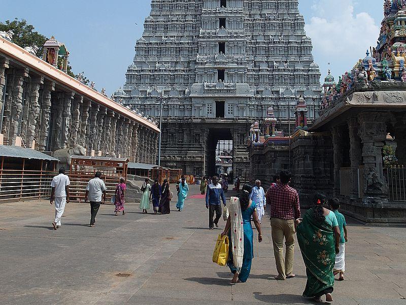 Паломники в Индии