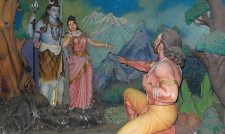 Равана, Шива и Парвати