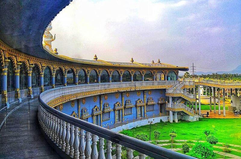Раманараянам: храм в виде лука Рамы