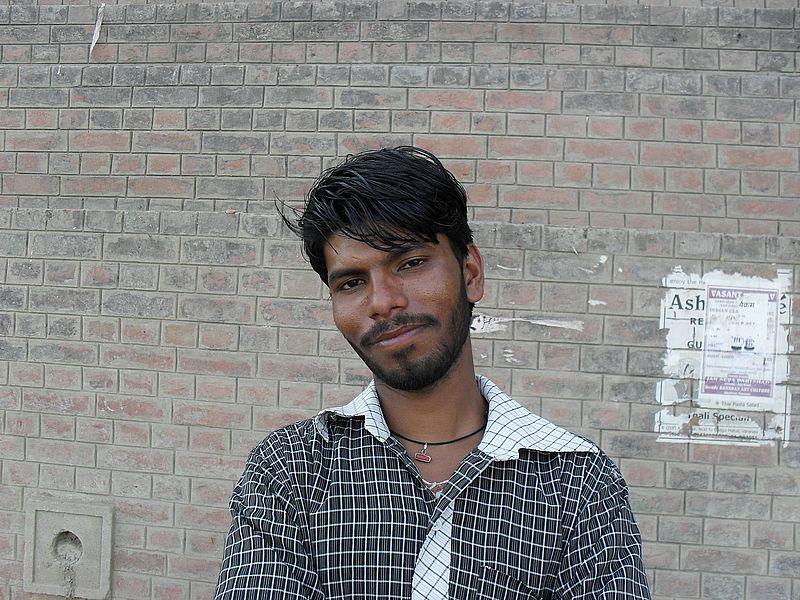 Индийский парень