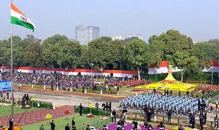 Парад в Дели