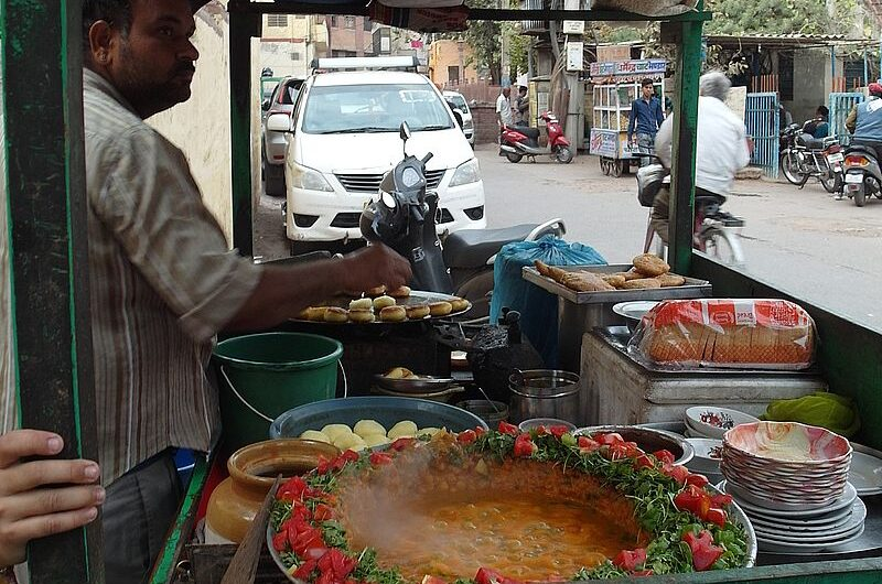 Самая вкусная уличная еда в Индии