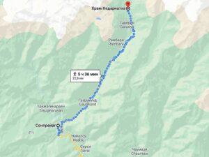 Как добраться в Кедарнатх