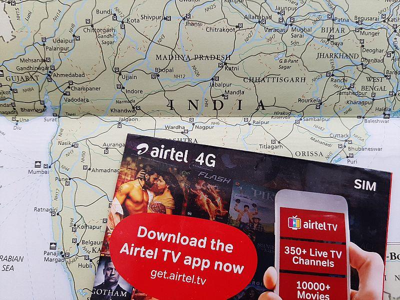 Сим-карта в Индии